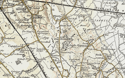 Old map of Whitbyheath in 1902-1903
