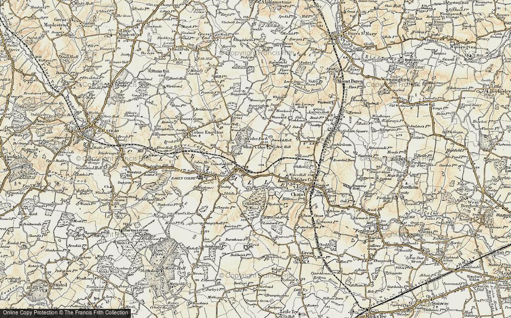 White Colne, 1898-1899
