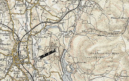 Old map of White Coppice in 1903