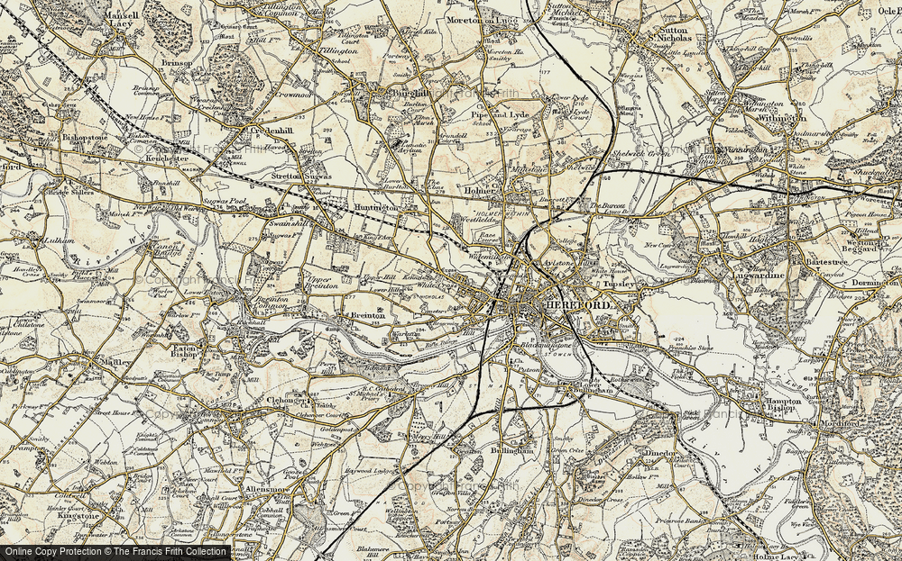White Cross, 1900-1901