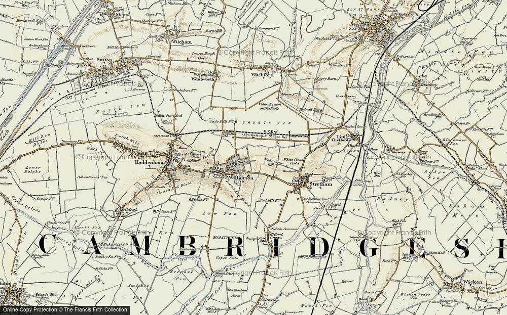 White Cross Hill, 1901