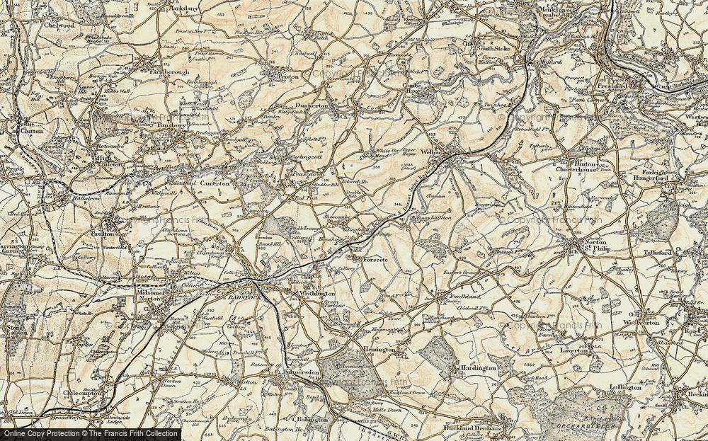 White Hill, 1898-1899
