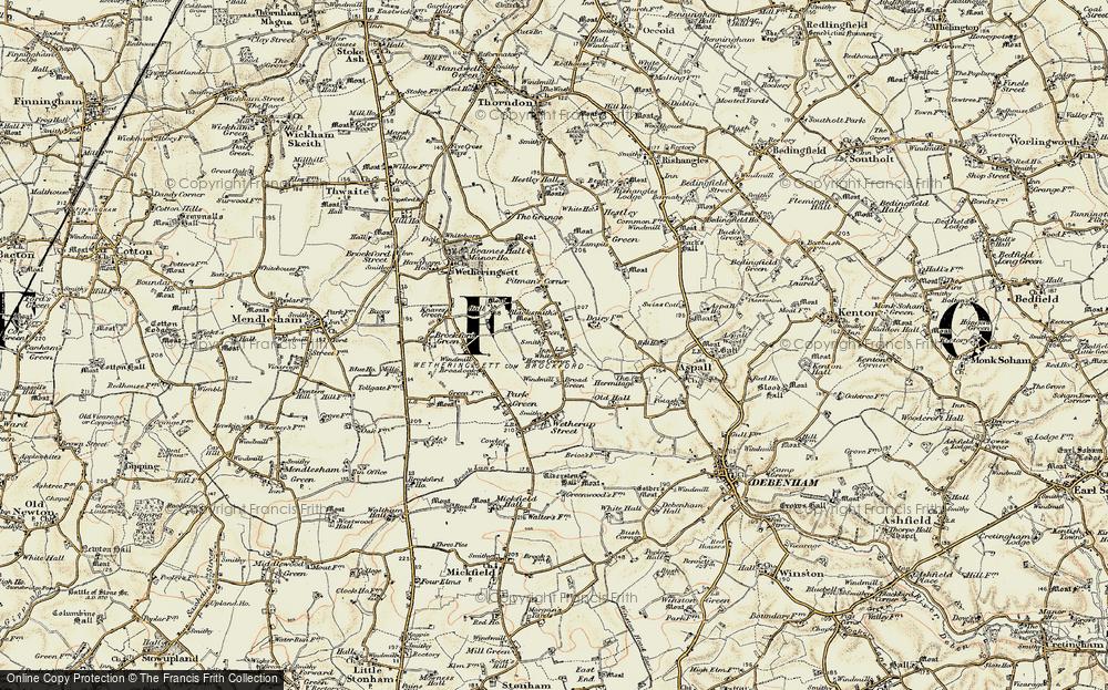 White Horse Corner, 1898-1901