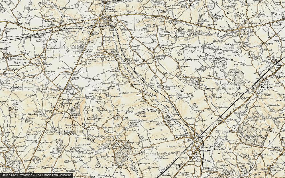 White Notley, 1898-1899