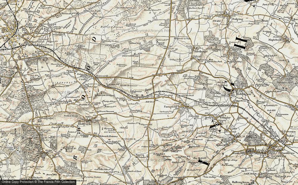 White Post, 1902-1903