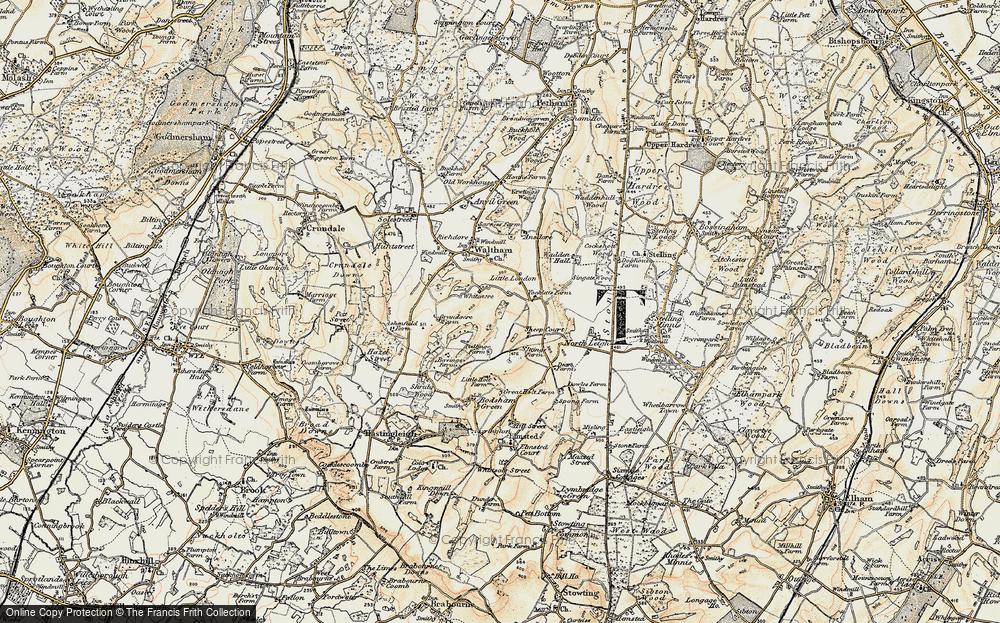 Whiteacre, 1898-1899