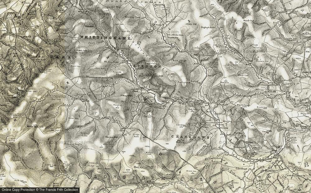Whiteadder Reservoir, 1901-1904
