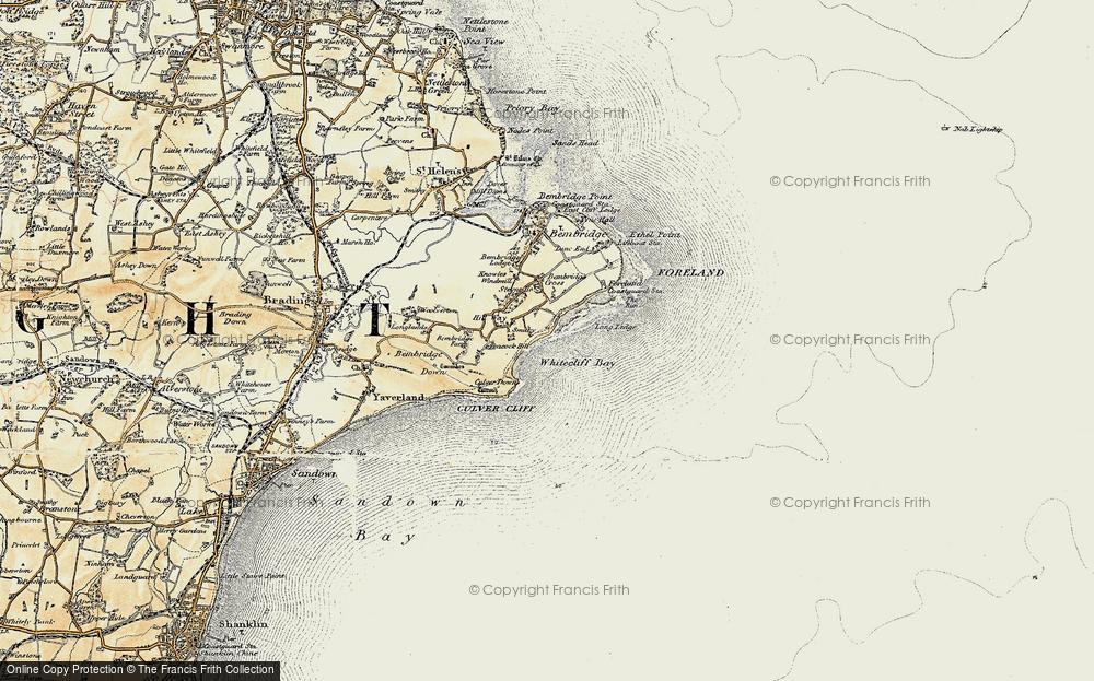 Whitecliff Bay, 1899
