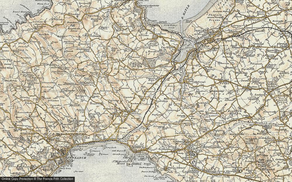 Whitecross, 1900