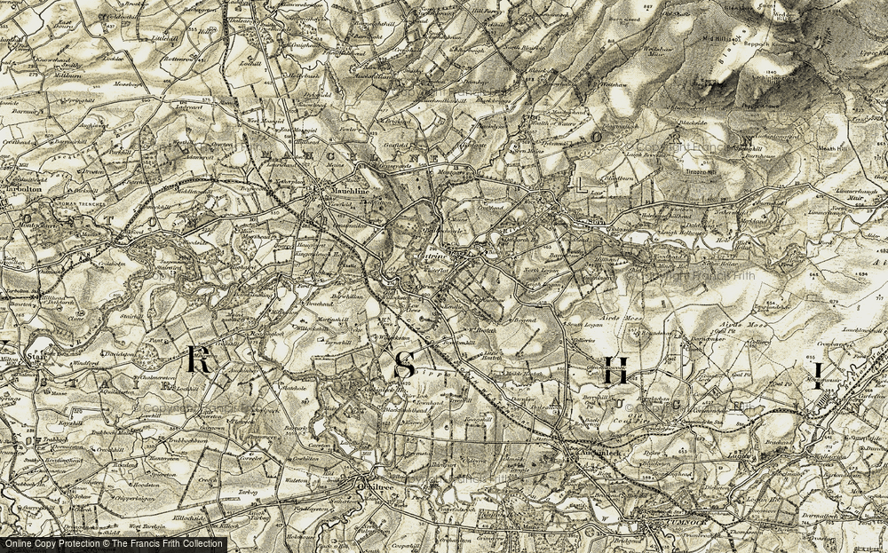 Old Map of Whiteflat, 1904-1905 in 1904-1905