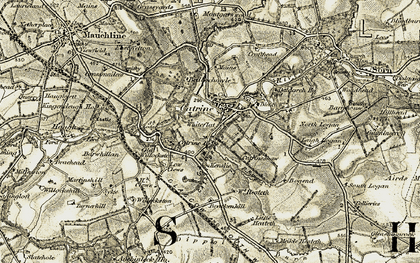 Old map of Willoxton in 1904-1905