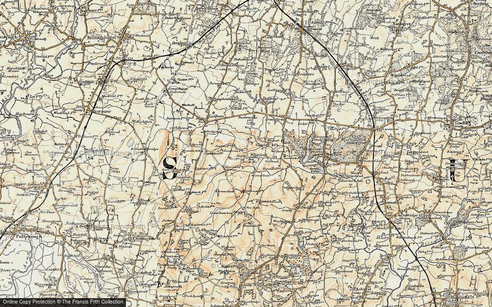 Whitehall, 1898