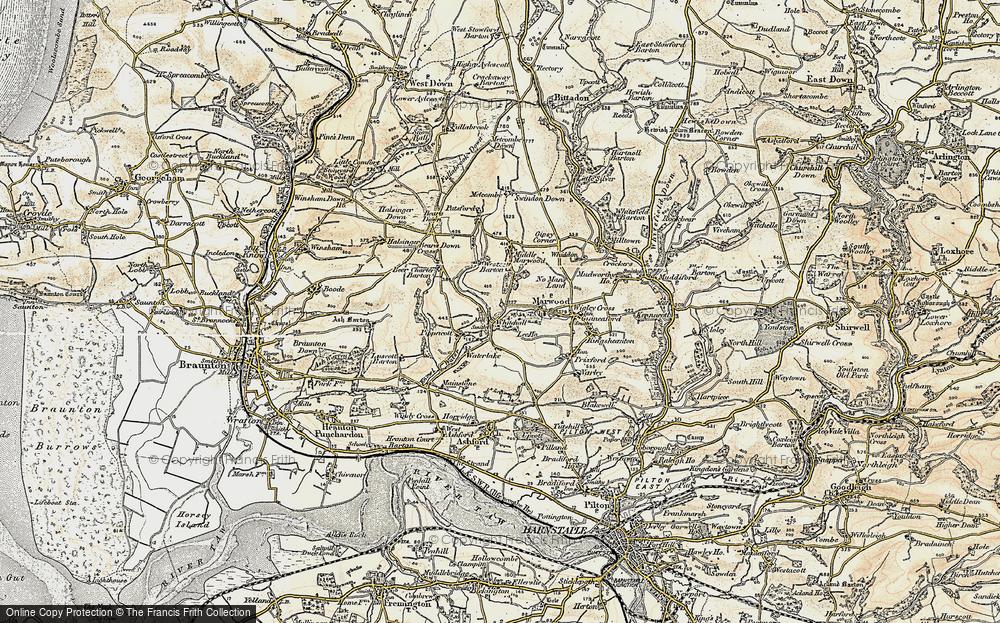 Whitehall, 1900