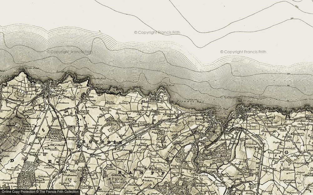 Whitehills, 1910