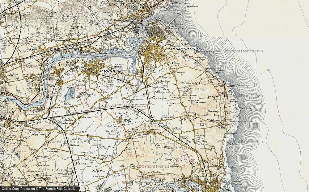 Whiteleas, 1901-1904
