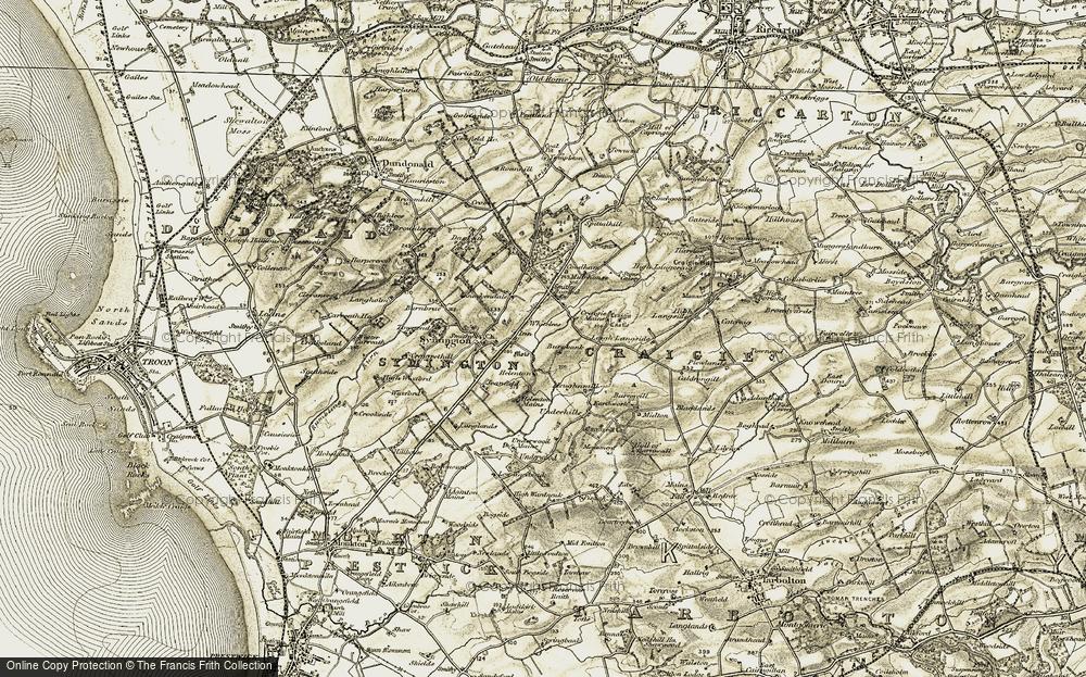 Whitelees, 1905-1906