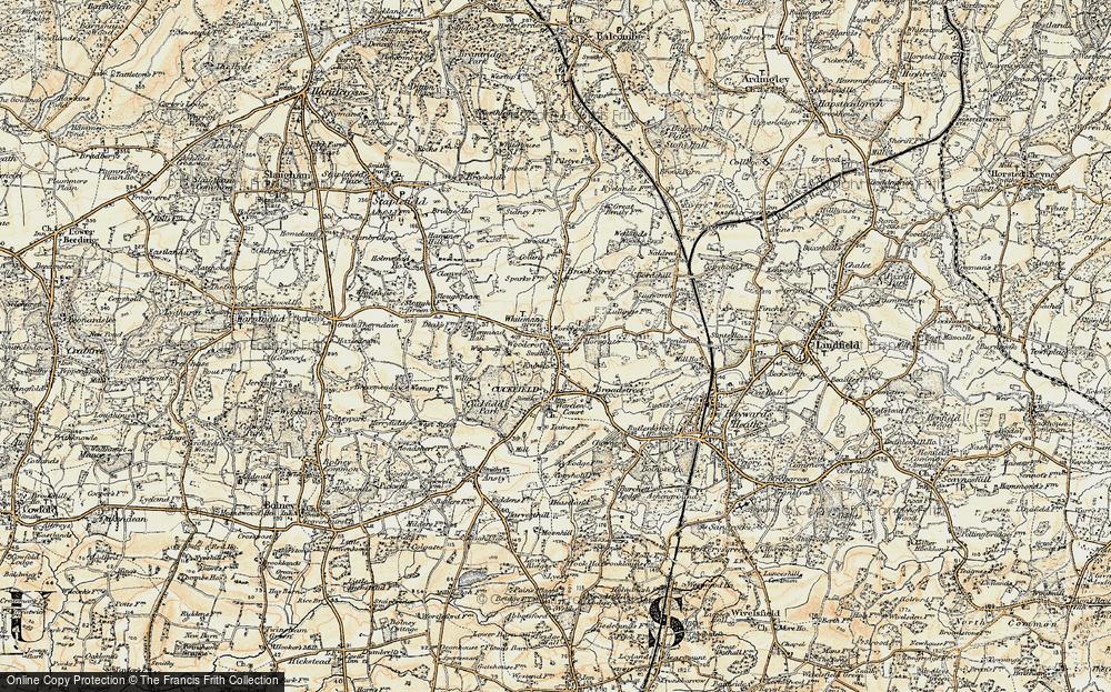 Whitemans Green, 1898