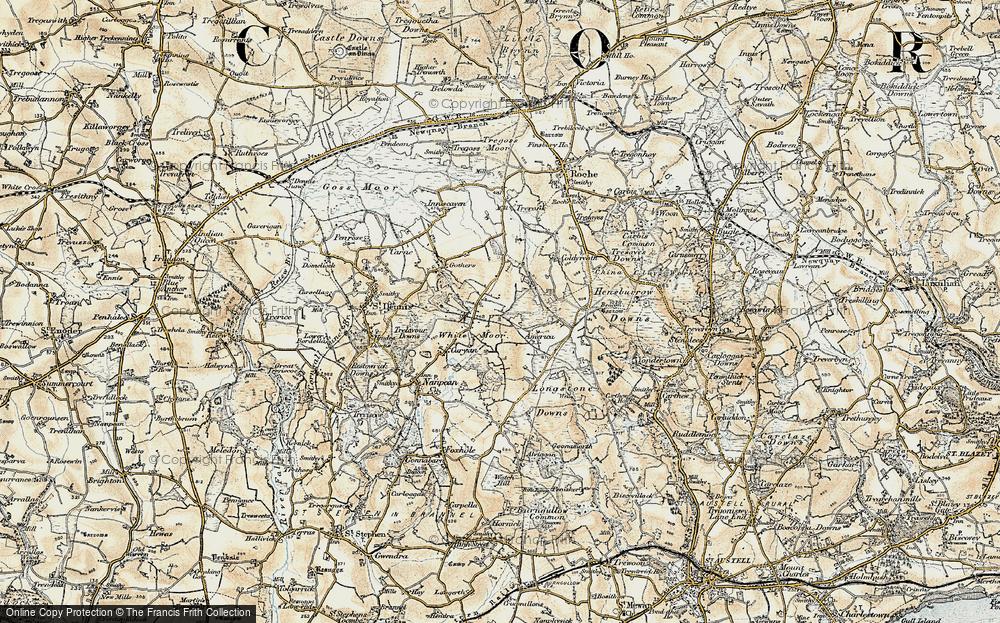Whitemoor, 1900