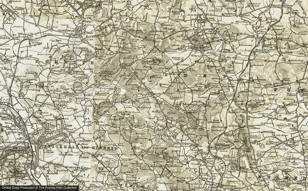 Whiterashes, 1909-1910
