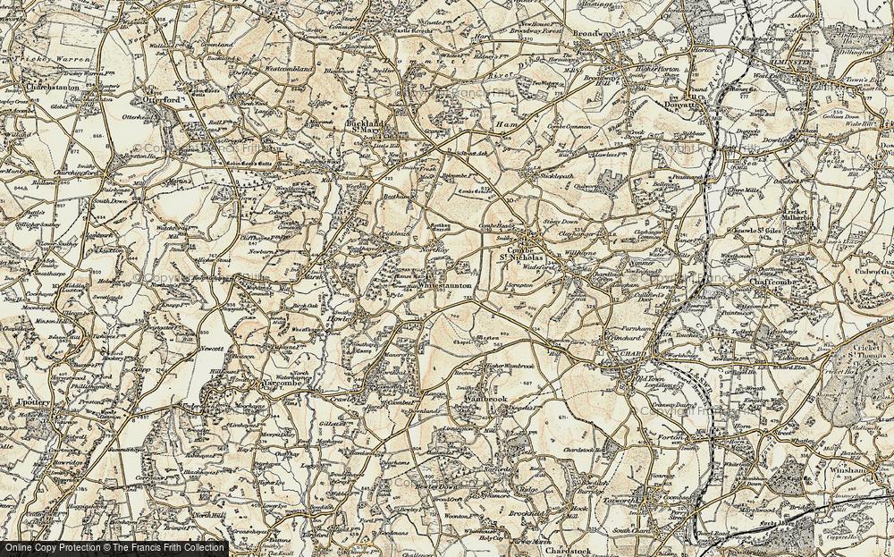 Whitestaunton, 1898-1900