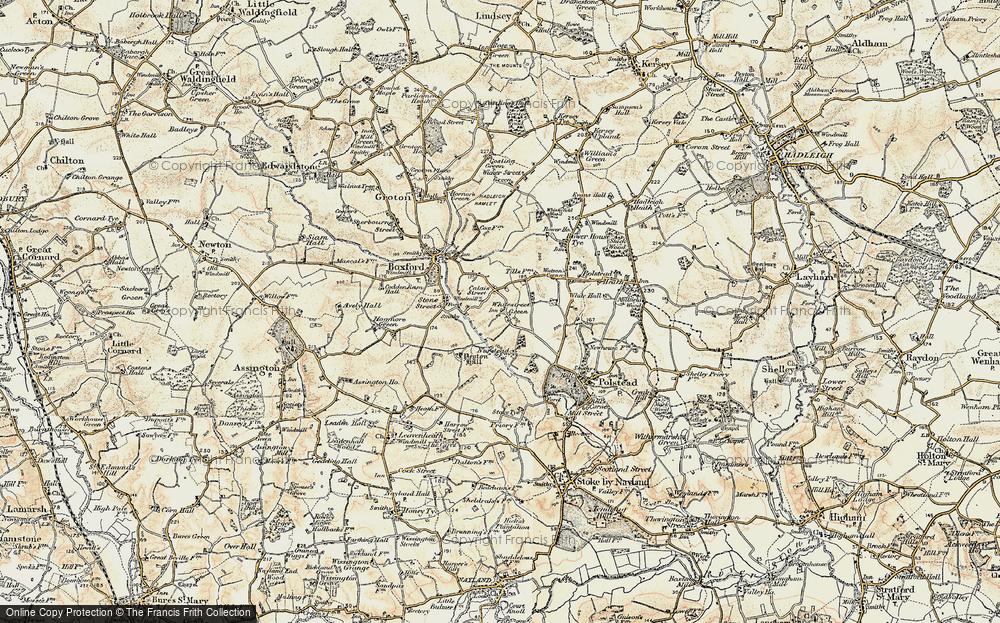 Whitestreet Green, 1898-1901