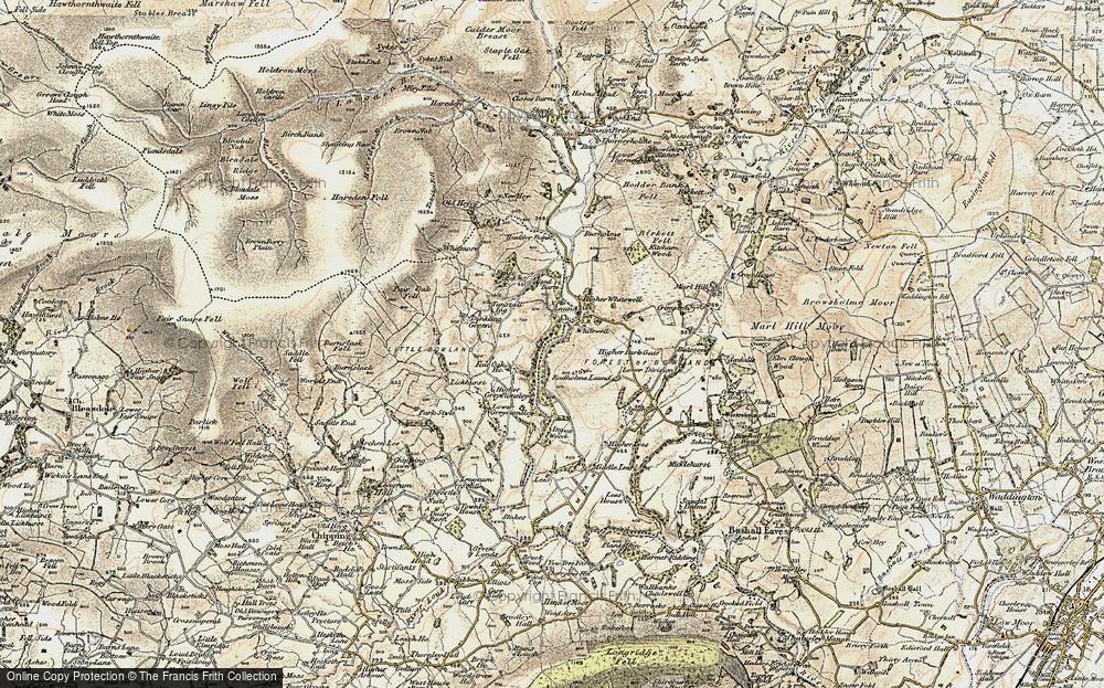 Whitewell, 1903-1904