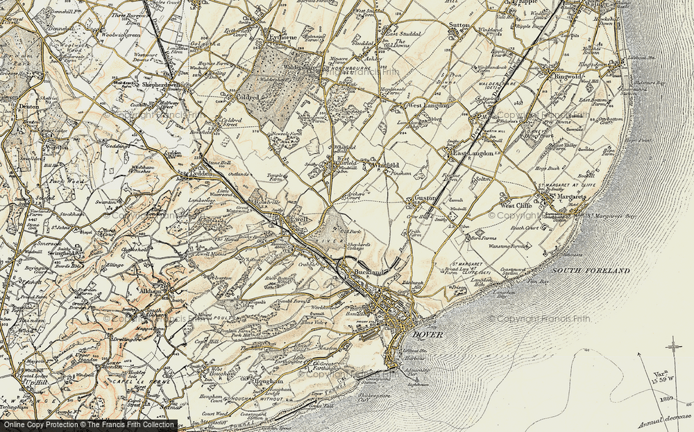 Whitfield, 1898-1899
