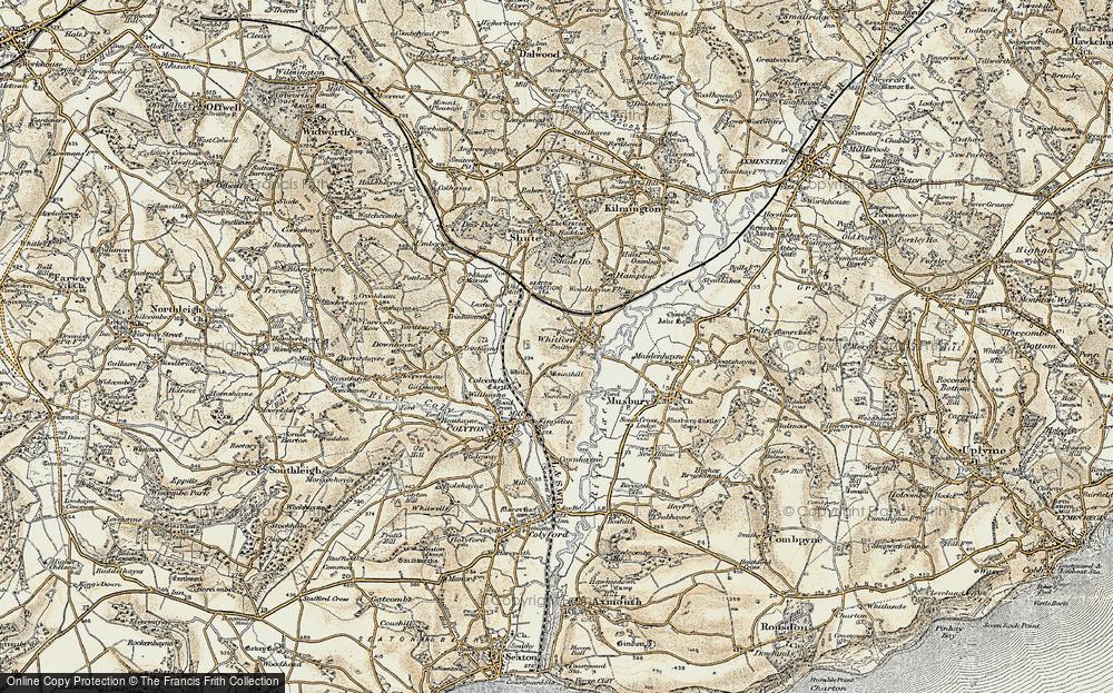 Whitford, 1898-1900
