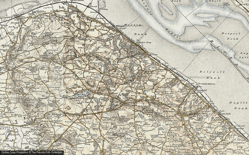 Old Map of Whitford, 1902-1903 in 1902-1903