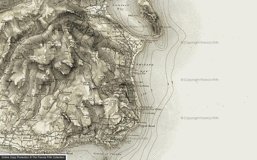Whiting Bay, 1905-1906