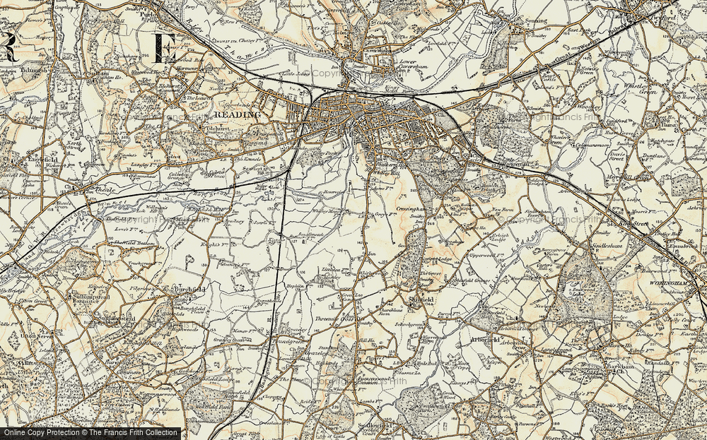 Old Map of Whitley, 1897-1909 in 1897-1909