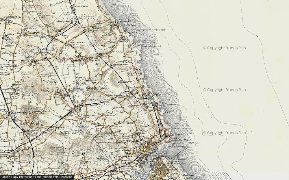 Whitley Bay, 1901-1903