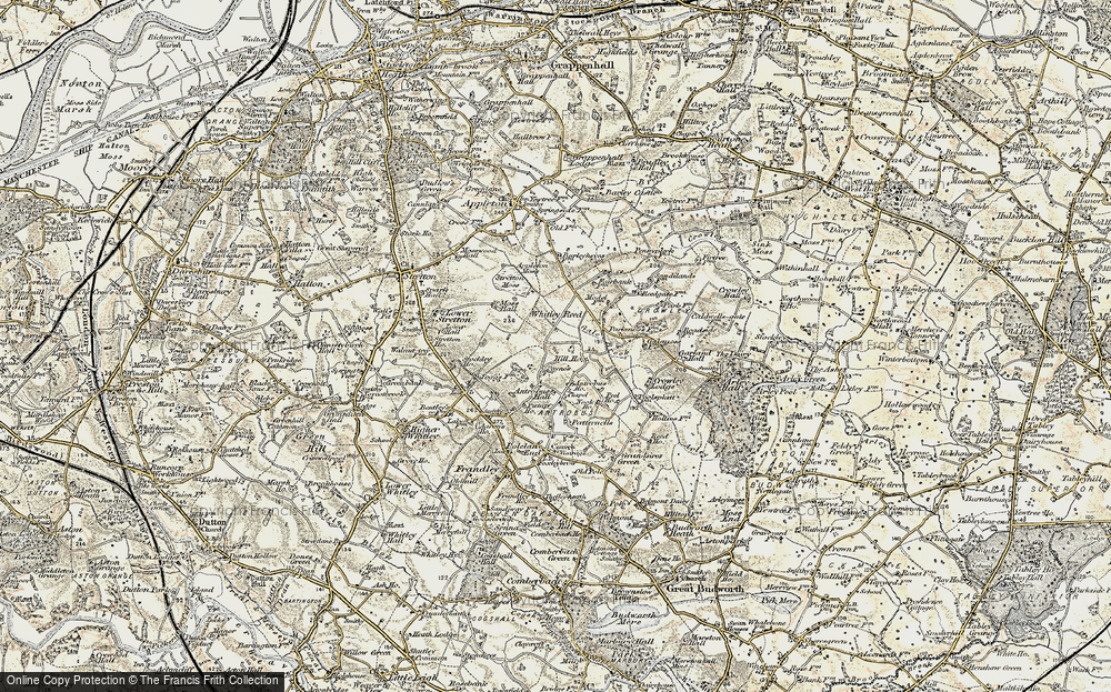 Old Map of Whitley Reed, 1902-1903 in 1902-1903