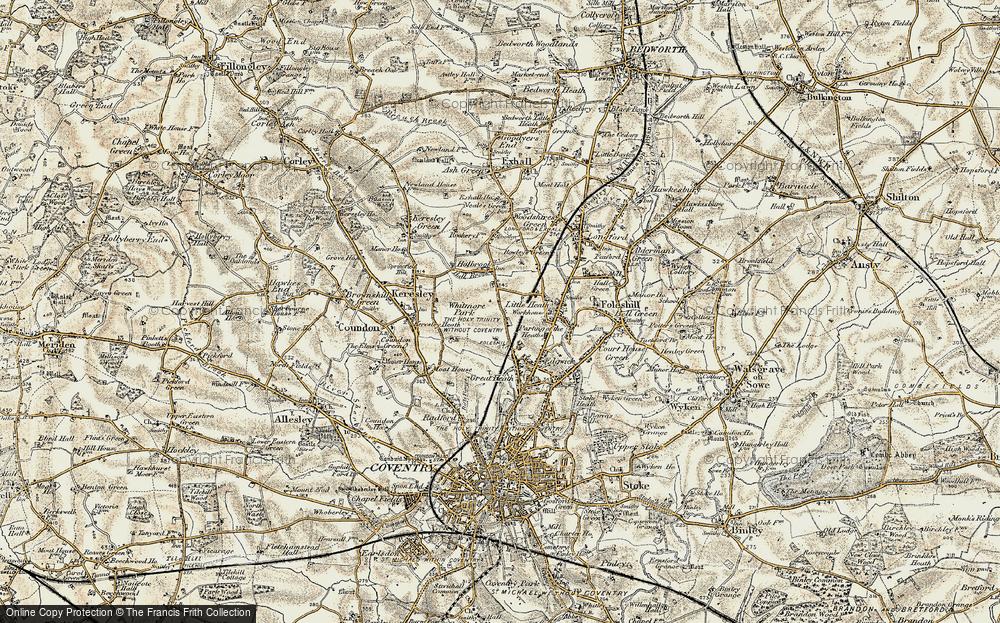 Whitmore Park, 1901-1902