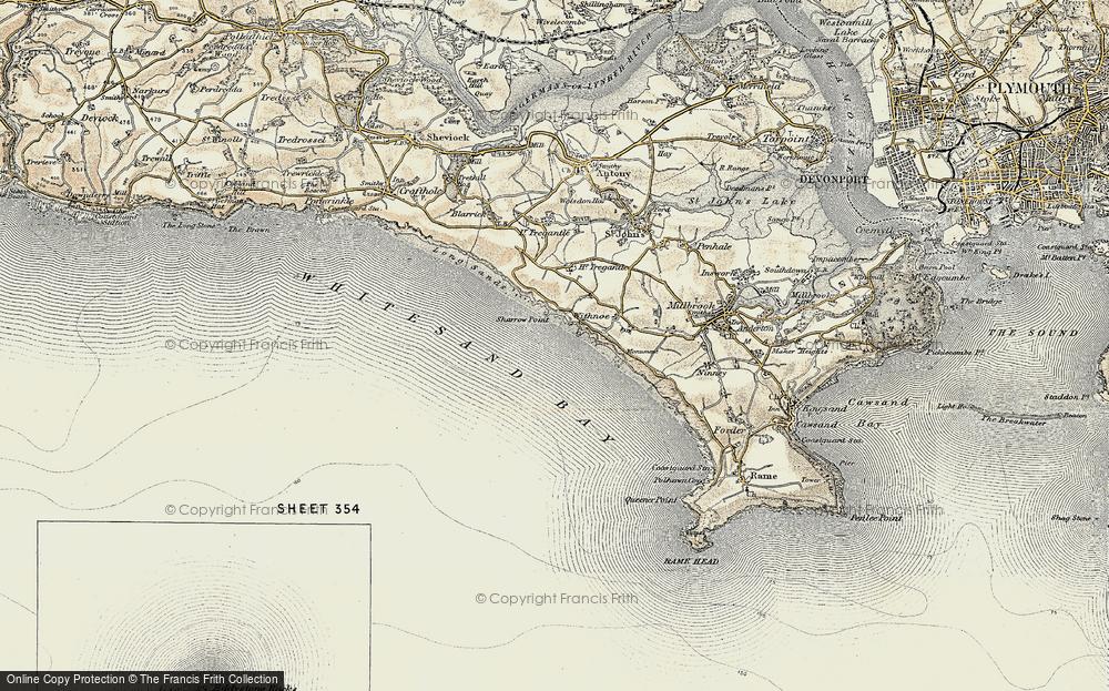 Whitsand Bay, 1899-1900