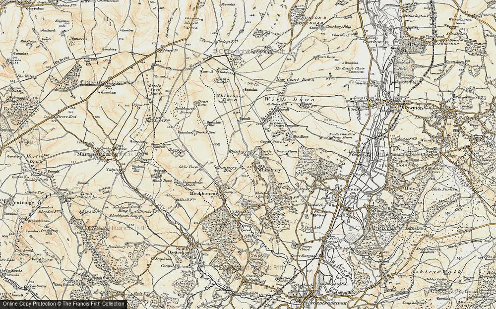 Whitsbury, 1897-1909