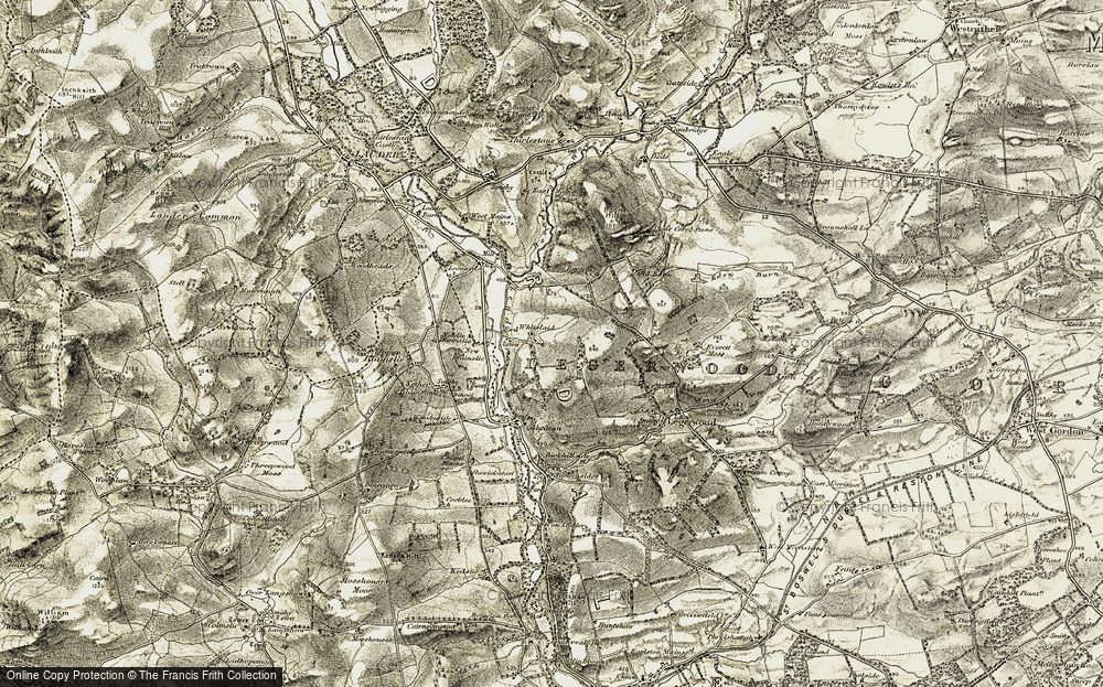 Old Map of Whitslaid, 1901-1904 in 1901-1904