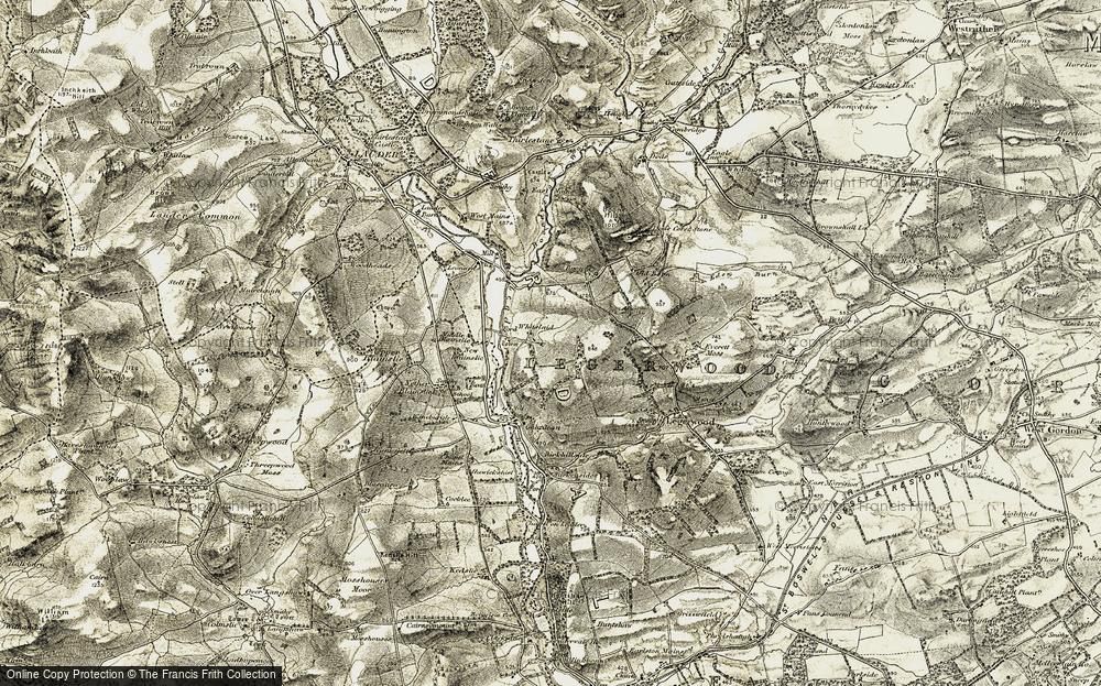 Whitslaid, 1901-1904