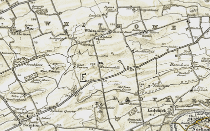 Old map of West Newton in 1901-1904