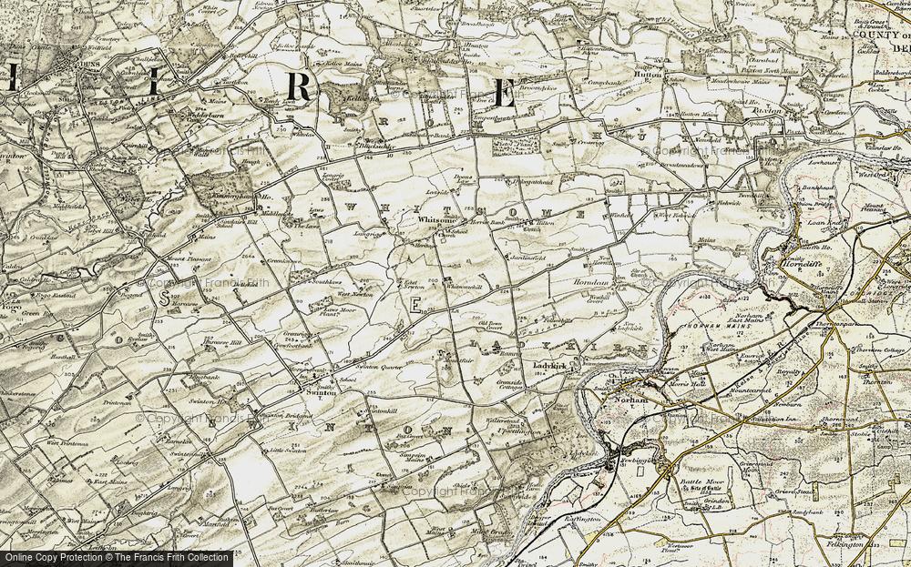 Whitsomehill, 1901-1904