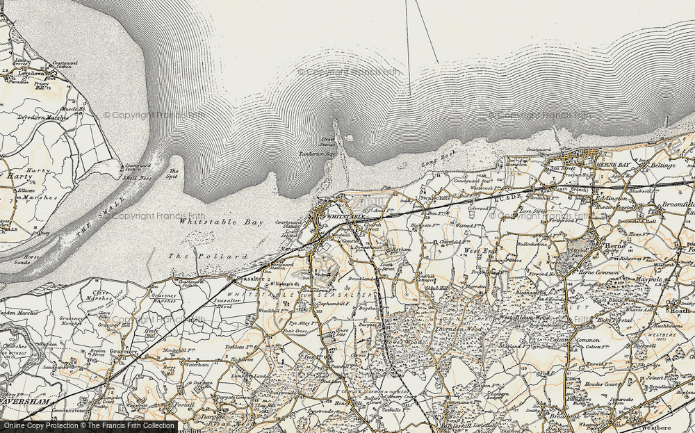 Whitstable, 1898-1899