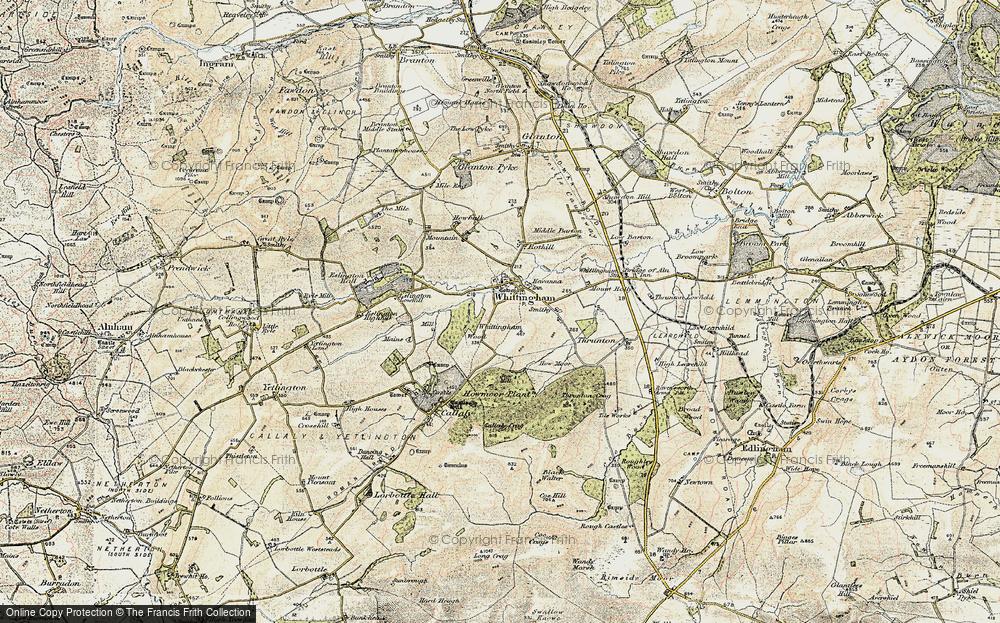 Whittingham, 1901-1903