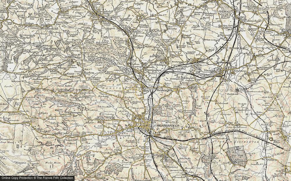 Whittington Moor, 1902-1903
