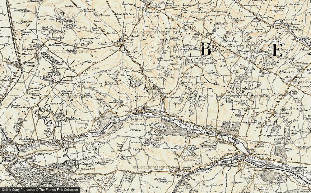 Whittonditch, 1897-1899