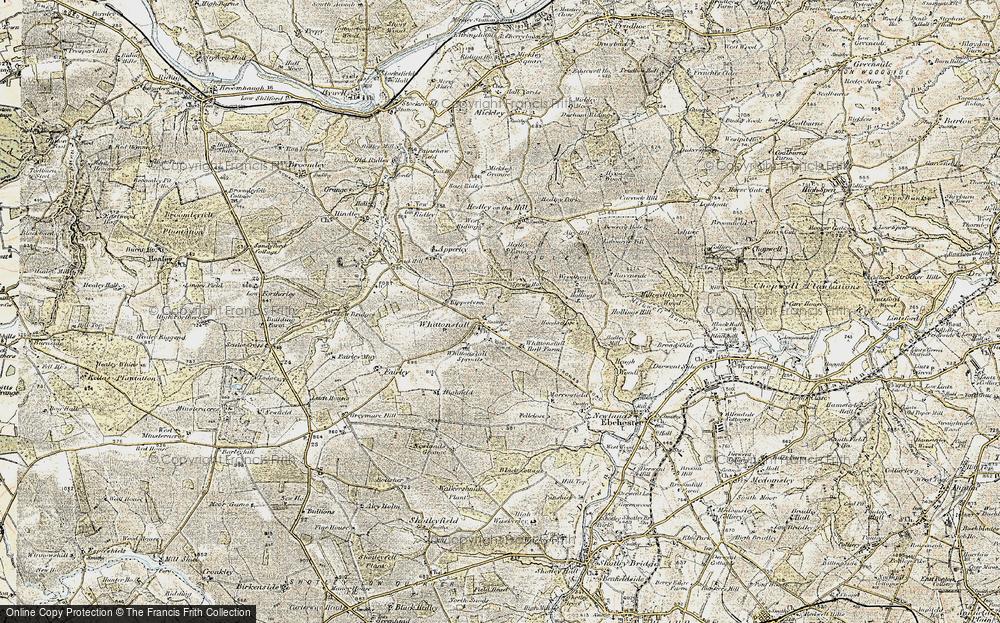 Whittonstall, 1901-1904
