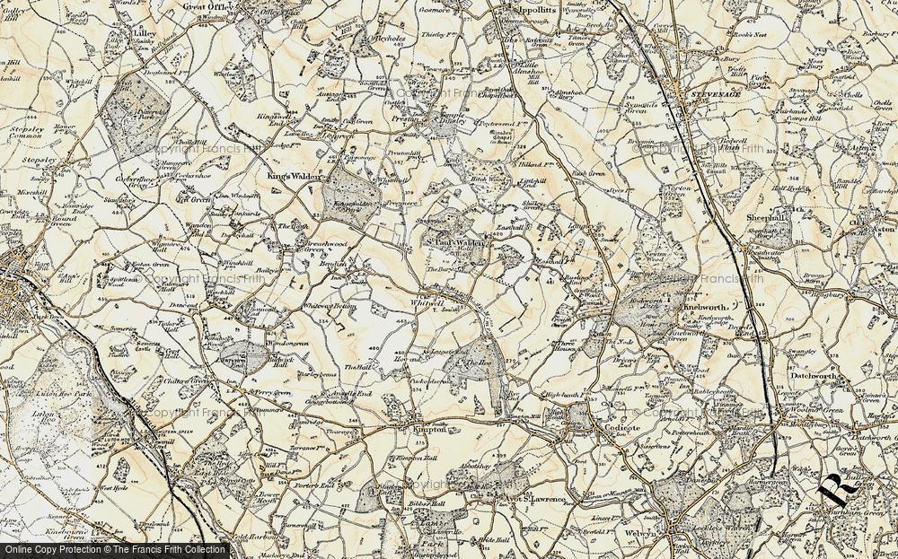 Whitwell, 1898-1899