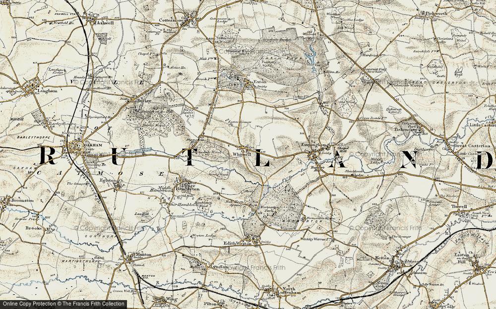 Whitwell, 1901-1903