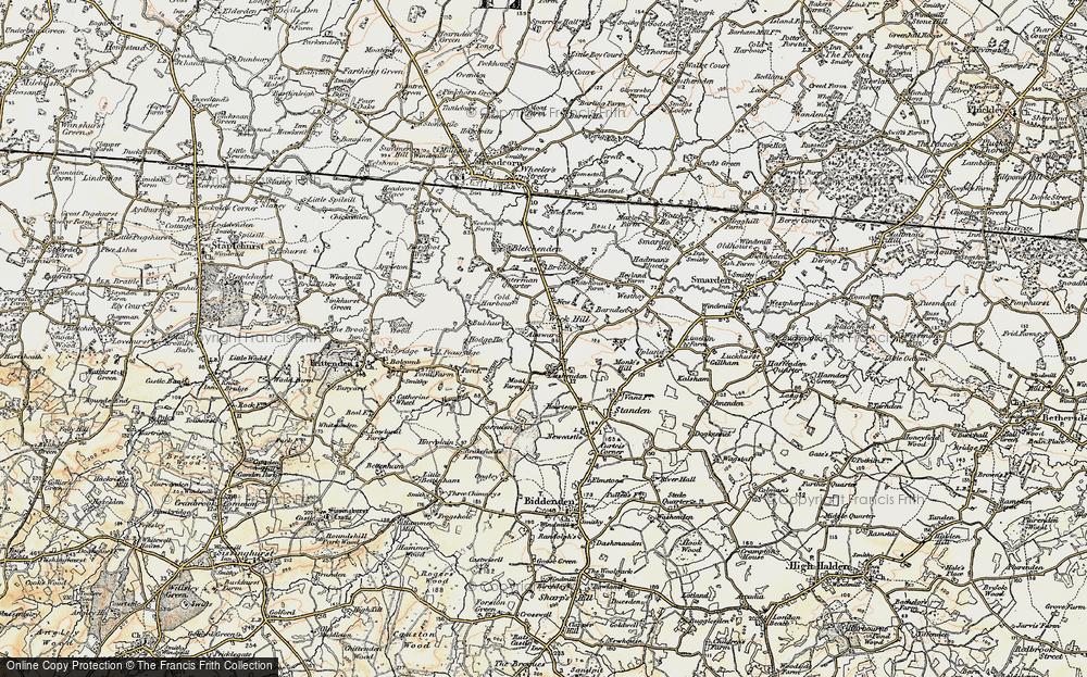 Wick Hill, 1897-1898