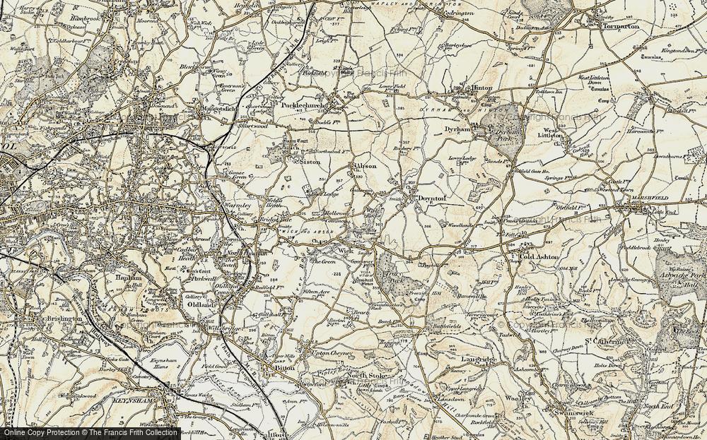Wick Rocks, 1899
