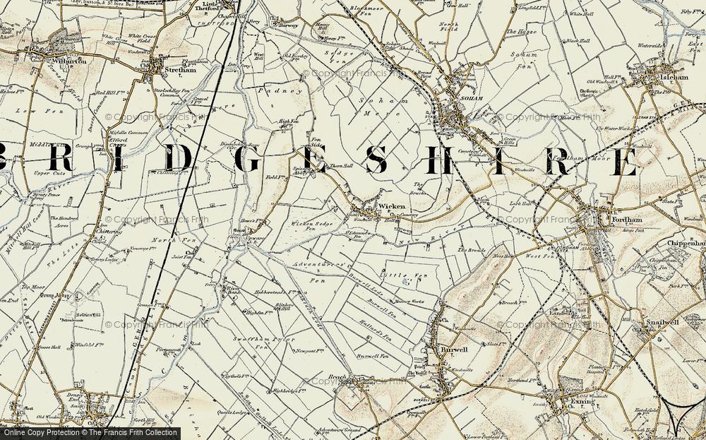 Wicken, 1901